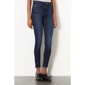 Topshop dark blue Jamie jeans